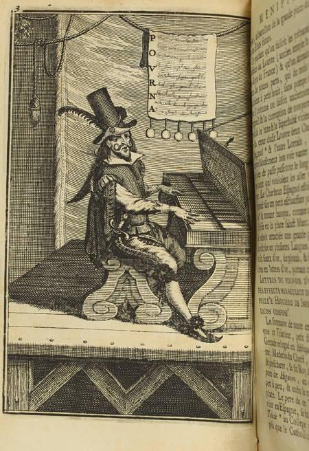 Satyre ménippée de la vertu du catholicon d'Espagne - 1726 - 3 volumes - 10 pl. - Photo 3 - livre de collection