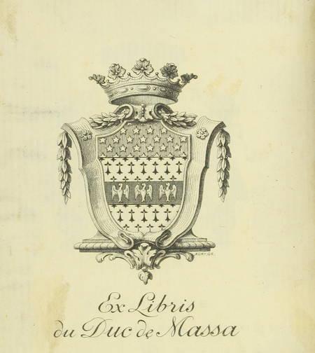 Henri MONNIER - Comédies bourgeoises - 1858 - Ex-libris du duc de Massa - Photo 0 - livre rare