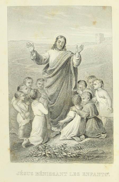 L'imitation de Jésus-Christ, traduction de Lamennais - 1858 - Jolie reliure - Photo 2 - livre de collection