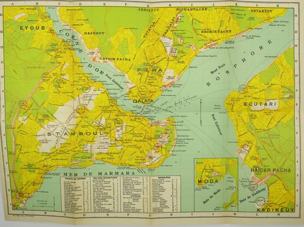 [Turquie] Ernest MAMBOURY - Constantinople - Guide touristique - 1929 - Photo 1 - livre rare