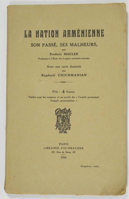 MACLER - La nation arménienne - Son passé, ses malheurs - 1924 - Photo 0 - livre moderne