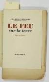 MAURIAC - Le feu sur la terre. Pièce en 4 actes - 1951 - EO - 1/470 Alfa - Photo 0 - livre moderne