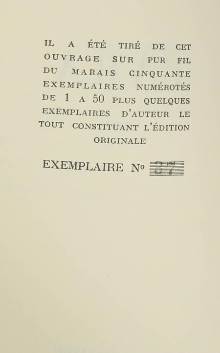 CASTILLO (Michel Del). Tara, livre rare du XXe siècle