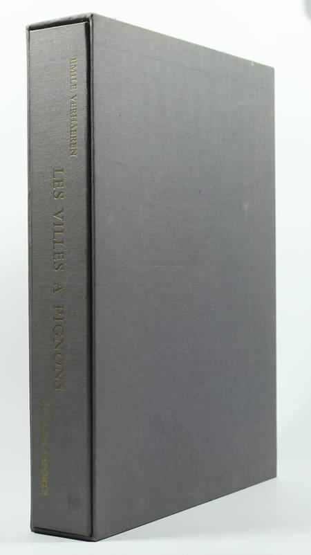 VERHAEREN Les villes à pignons 1971 - Georges Laporte - Dessin signé + Lithos - Photo 1 - livre de bibliophilie