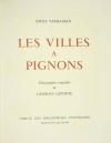 VERHAEREN Les villes à pignons 1971 - Georges Laporte - Dessin signé + Lithos - Photo 3, livre rare du XXe siècle