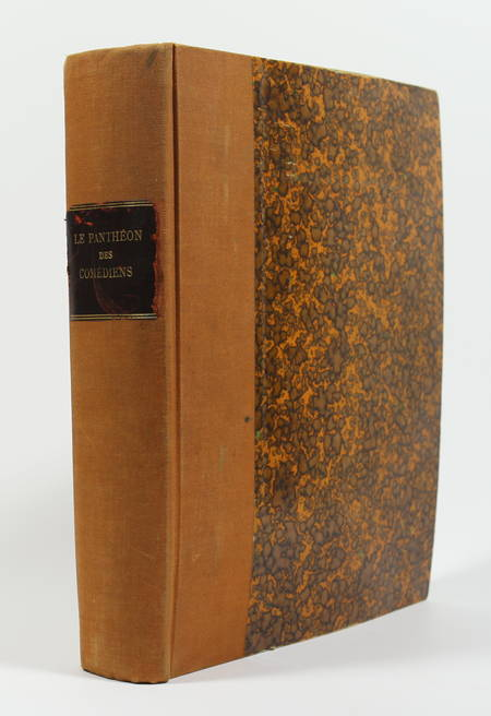Le panthéon des comédiens. De Molière à Coquelin aîné - 1922 - 1/50 Japon - Photo 1 - livre rare