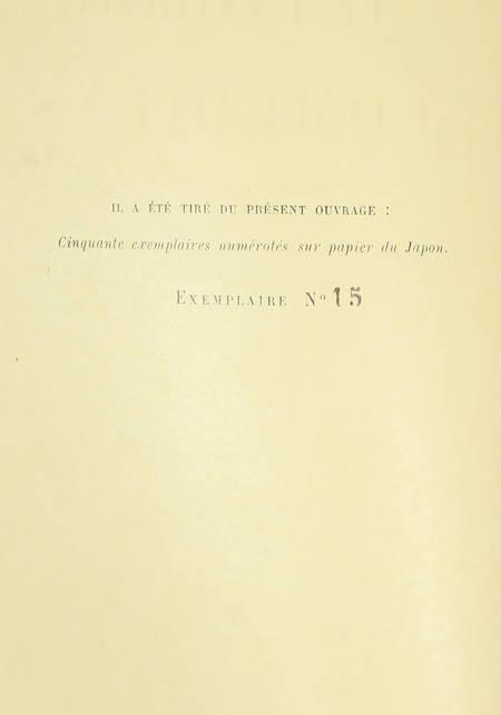 Le panthéon des comédiens. De Molière à Coquelin aîné - 1922 - 1/50 Japon - Photo 2 - livre rare