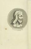 PLUTARQUE - Vies des hommes illustres - 1804 - 4 volumes - Portraits - Photo 1, livre ancien du XIXe siècle
