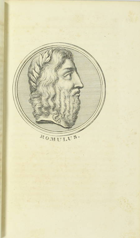 PLUTARQUE - Vies des hommes illustres - 1804 - 4 volumes - Portraits - Photo 3 - livre d'occasion