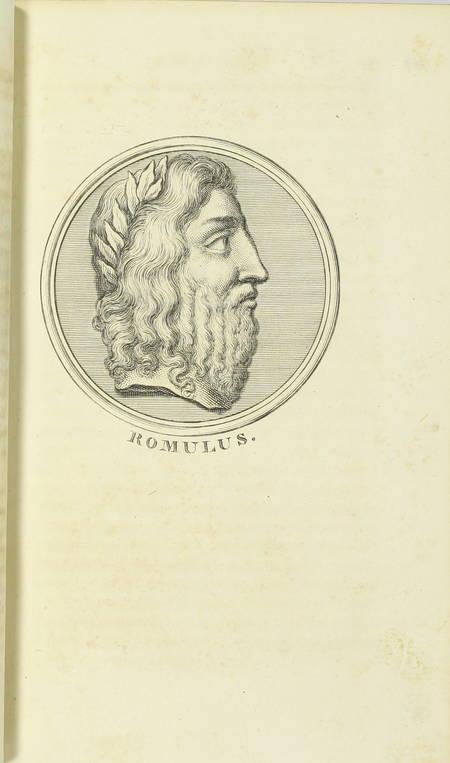 PLUTARQUE - Vies des hommes illustres - 1804 - 4 volumes - Portraits - Photo 3 - livre de bibliophilie