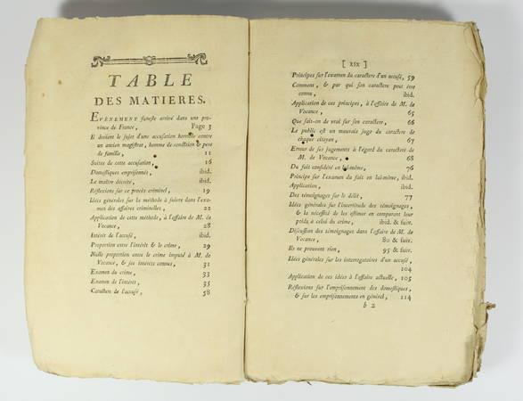 [SERVAN] SERVAN - Réflexions sur quelques points de nos loix - 1781 - Photo 2 - livre de collection