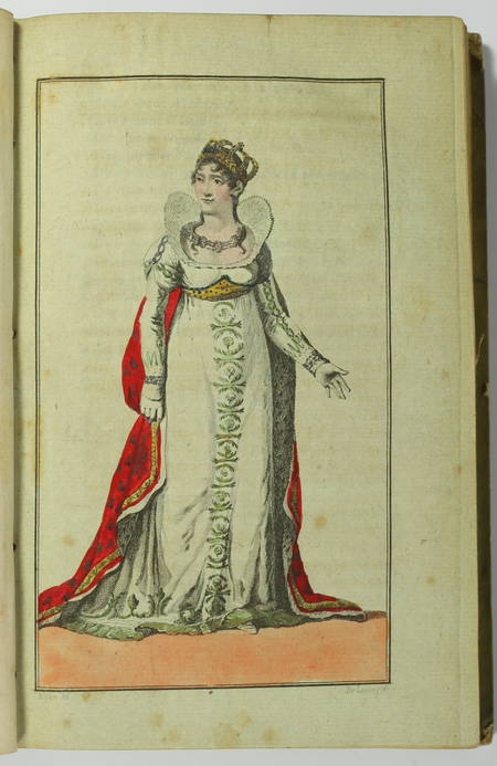 [Empire] Cérémonial de l empire français 1805 - Portraits Napoléon Joséphine ... - Photo 3 - livre ancien