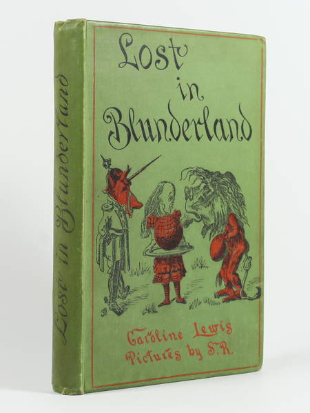 LEWIS - Lost in Blunderland. The further aventure of Clara - 1903 - Photo 0 - livre rare