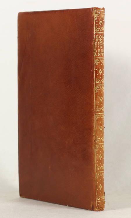 La confession publique d'un brocanteur. Aventure extraordinaire - 1776 (1936) - Photo 0 - livre du XXe siècle