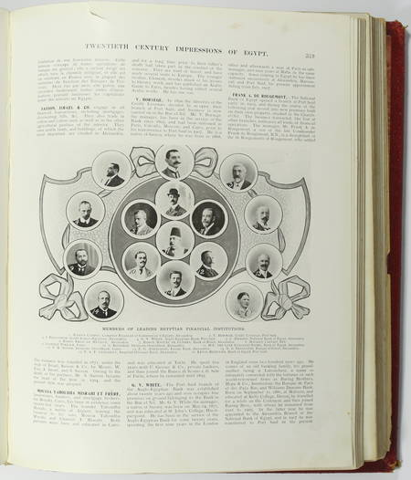 WRIGHT - Twentieth century impressions of Egypt. Its history, people ... - 1909 - Photo 2 - livre d'occasion