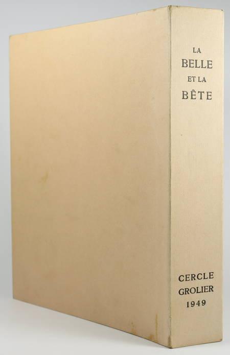 VILLENEUVE - La belle et la bête - 1949 - Illustré de bois de Stefan Mrozewski - Photo 1 - livre de bibliophilie