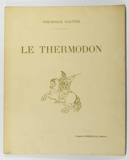Théophile GAUTIER - Le Thermodon - 1911 - Vostermann d'après Rubens - Photo 1 - livre de collection