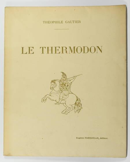 Théophile GAUTIER - Le Thermodon - 1911 - Vostermann d'après Rubens - Photo 1 - livre du XXe siècle