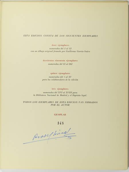 AREVALO MACRY - Canciones 1972 - Illustré par Guillermo Garcia-Sauco - Photo 2 - livre de collection