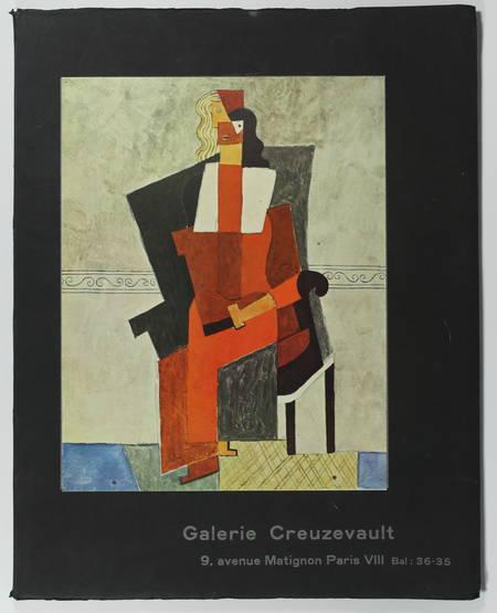 . Peintures de maîtres. Inauguration de la galerie Creuzevault 17 Mai - 15 juin 1957