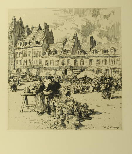 Henry COCHIN - Saint-Omer - 1925 - 15 eaux-fortes de P.-A. Bouroux - Photo 0 - livre de collection
