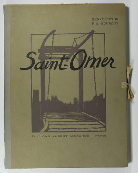 Henry COCHIN - Saint-Omer - 1925 - 15 eaux-fortes de P.-A. Bouroux - Photo 1 - livre de bibliophilie