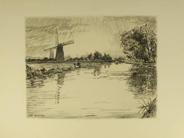 Henry COCHIN - Saint-Omer - 1925 - 15 eaux-fortes de P.-A. Bouroux - Photo 2 - livre de bibliophilie