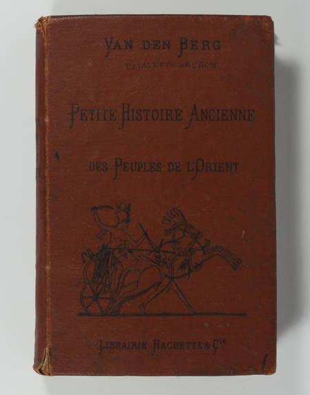Van den BERG - Histoire ancienne des peuples d'Orient Egyptiens Assyriens 1883 - Photo 0 - livre de collection