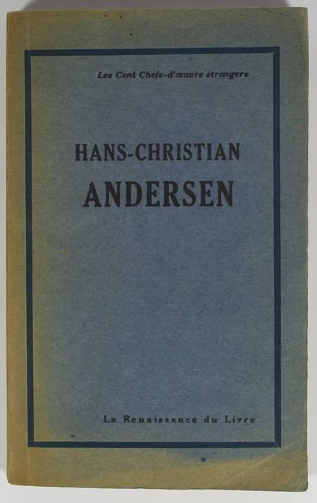 ANDERSEN - Contes choisis - 1929 - Signé par Pierre Mélèse, traducteur - Photo 1, livre rare du XXe siècle