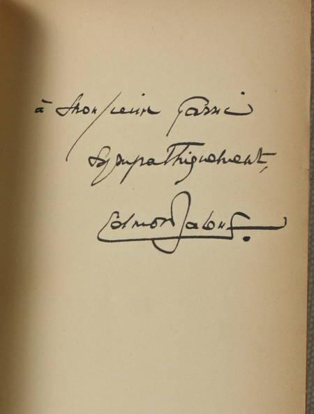 Edmond JALOUX - La grenade mordue - 1933 - EO avec envoi - Photo 0 - livre de collection