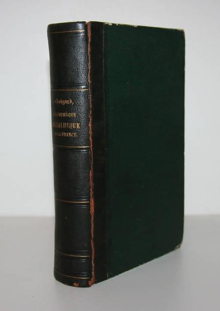 [GENEALOGIE] GUIGARD - Bibliothèque HERALDIQUE de la France - 1861 - Photo 1 - livre du XIXe siècle