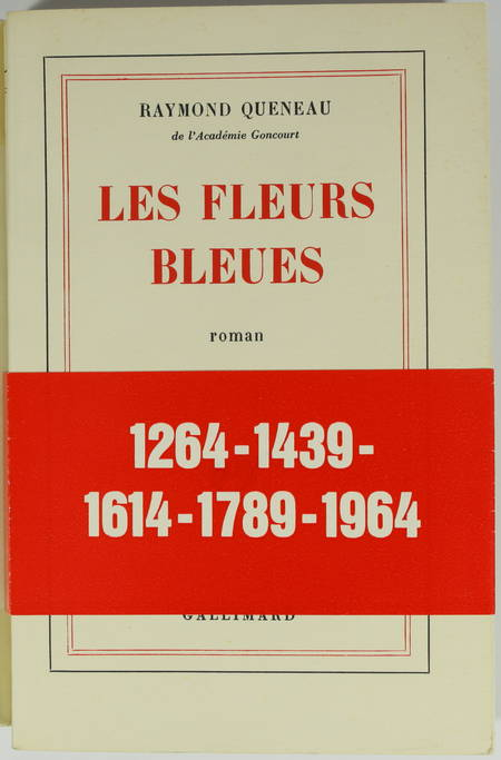 QUENEAU (Raymond). Les fleurs bleues