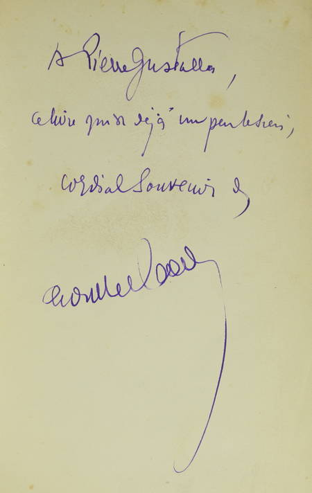 Henry de MONTHERLANT - Le démon du bien - 1937 - EO sur Alfa S. P. - Envoi - Photo 0 - livre d'occasion
