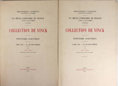 [Estampes] VILLA - Collection Vinck - Le second Empire : 1ère et 2ème partie - Photo 0 - livre d'occasion