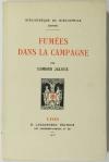 Edmond JALOUX - Fumées dans la campagne - 1925 - sur vélin B. F. K. - Photo 0, livre rare du XXe siècle