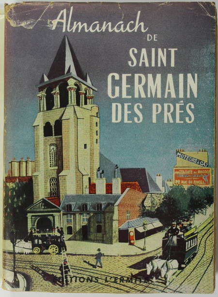 [Paris] Almanach de Saint-Germain-des-Prés - 1950 - Illustrations - Photo 0 - livre de collection