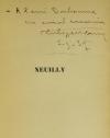 Philippe MONIN - Neuilly - Monographie - 1937 - Envoi - Photo 0, livre rare du XXe siècle