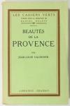 Jean-Louis VAUDOYER - Beautés de la Provence - 1926 EO sur vélin pur fil Lafuma - Photo 1 - livre moderne