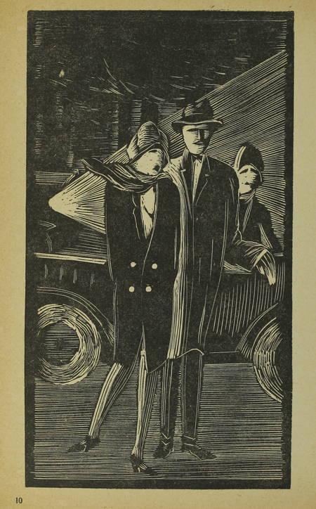 Pol PRILLE - Bois de Boulogne, bois d'amour - 1925 - Illustré de bois de Sima - Photo 0 - livre d'occasion