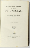 DANGEAU - Mémoires et journal du marquis de Dangeau - 1830 - 4 volumes - Photo 1, livre rare du XIXe siècle