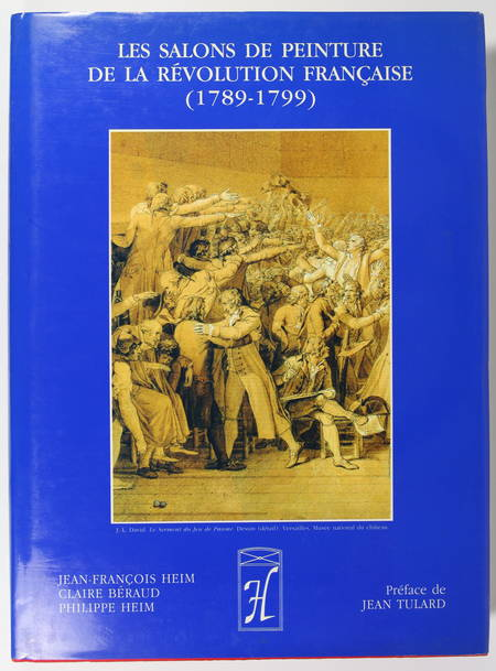 . Les salons de peinture de la révolution française (1789-1799), livre rare du XXe siècle