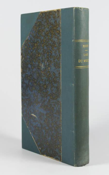 [Aymar de Martel] RIQUET - L'âge du muscle - 1898 - Photo 1 - livre rare