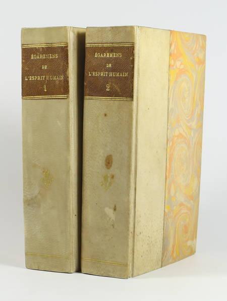 [Hérésies] Pluquet - Histoire des égarements de l'esprit humain 1788 - 2 volumes - Photo 0 - livre rare