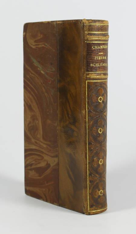 CHAMISSO. Pierre Schlémil, livre rare du XIXe siècle