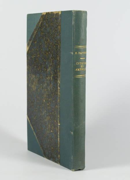 Emile Barbier - Cythère en Amérique - vers 1894 - llustrations de Gabriel Pernet - Photo 1 - livre du XIXe siècle