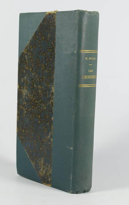 J.-H. ROSNY - Les origines - 1895 - Illustrations de Calbet, Mittis et Picard - Photo 1 - livre de collection