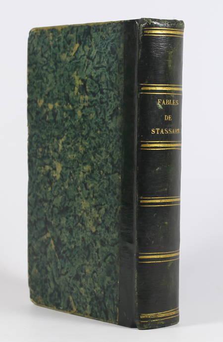 Fables du baron de Stassart - 1837 - Illustré de figures - Photo 1 - livre romantique