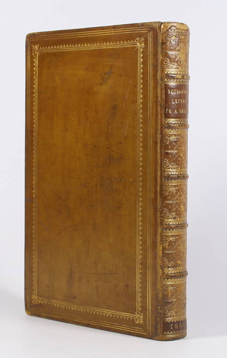 SCUDAMORE (W. E.). Letters to a seceder from the church of England to the communion of Rome, livre rare du XIXe siècle