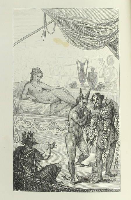 La Luciade ou l'âne, de Lucius de Patras, avec le texte grec - 1818 - Figures - Photo 0 - livre romantique