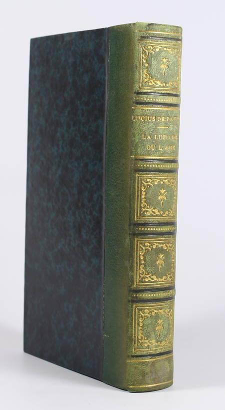La Luciade ou l'âne, de Lucius de Patras, avec le texte grec - 1818 - Figures - Photo 1 - livre rare